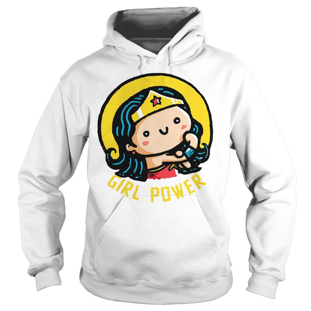 Girl Power Wonder Woman Hoodie