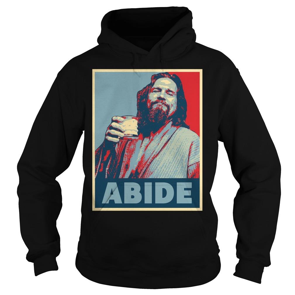 Hope To Abide Dude Hoodie
