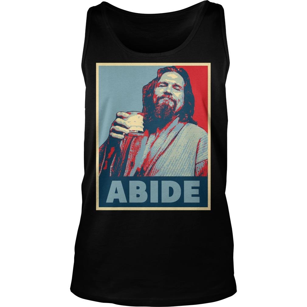 Hope To Abide Dude Tanktop