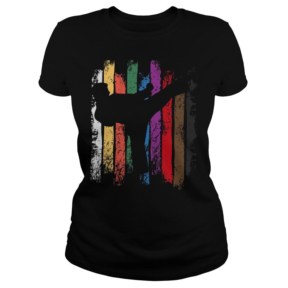 Karate Belt Colors Silhouette Ladies