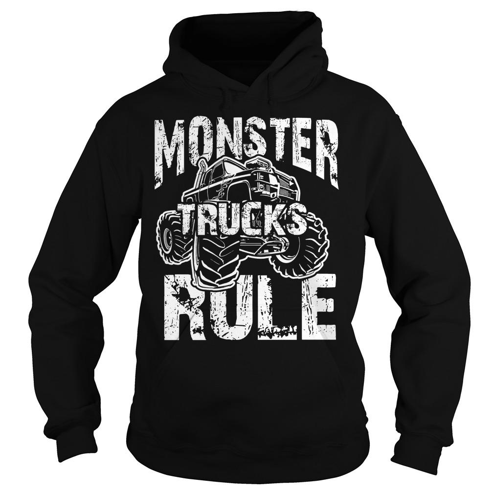 Monster Trucks Rule Hoodie