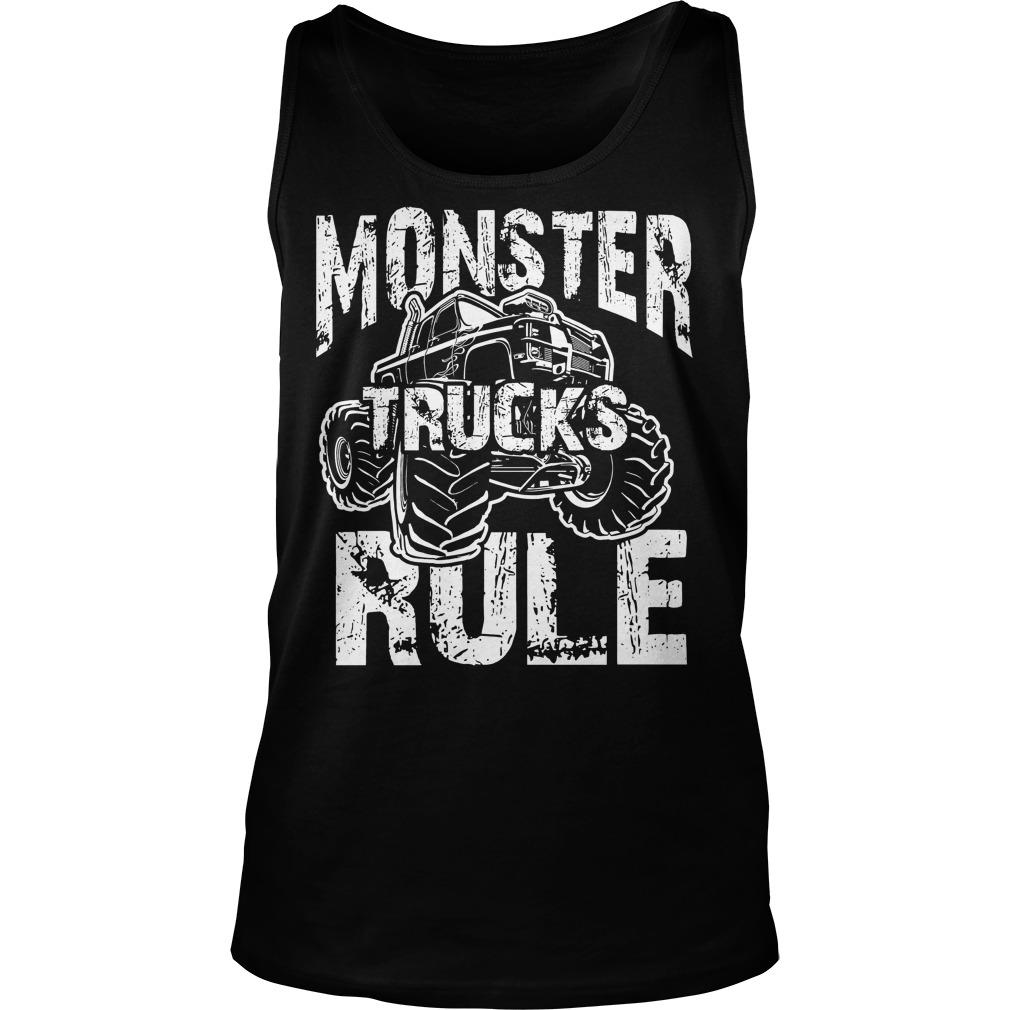 Monster Trucks Rule Tanktop