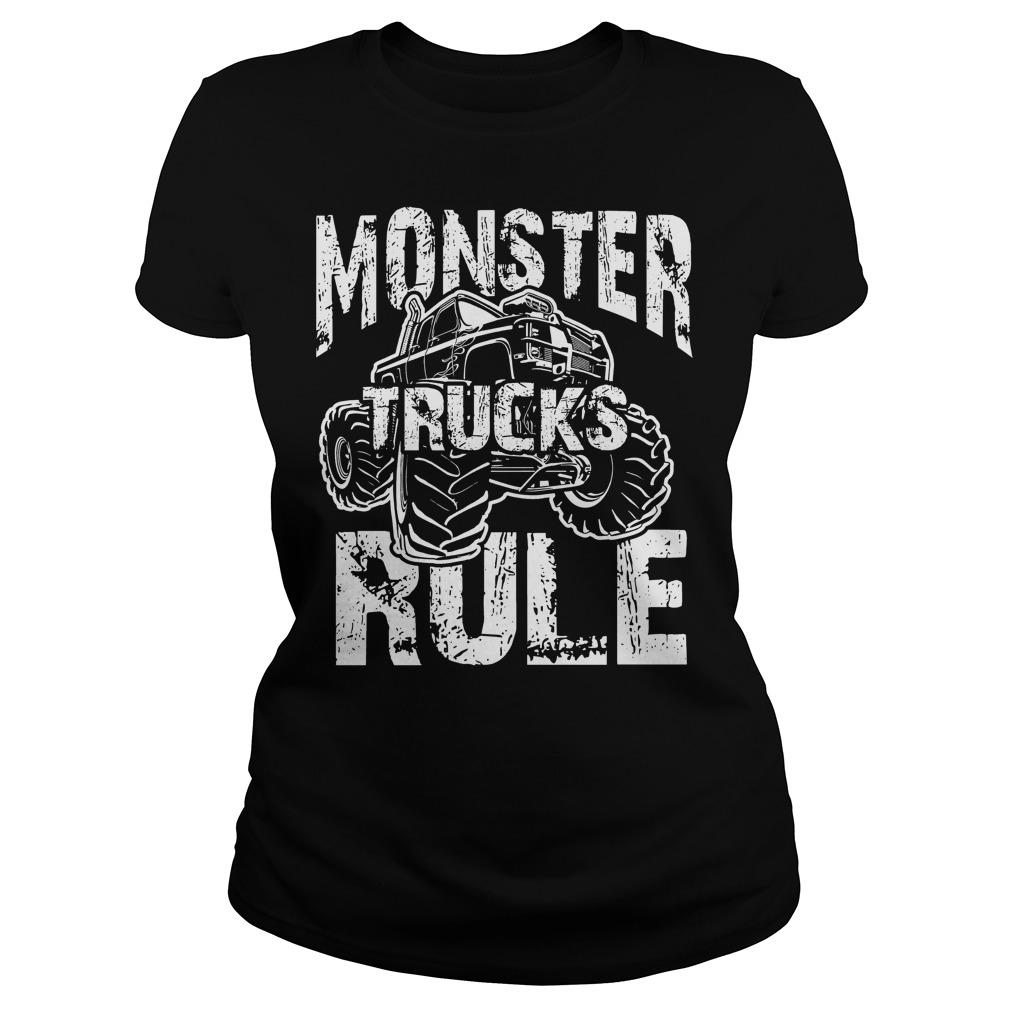 Monster Trucks Rule Ladies