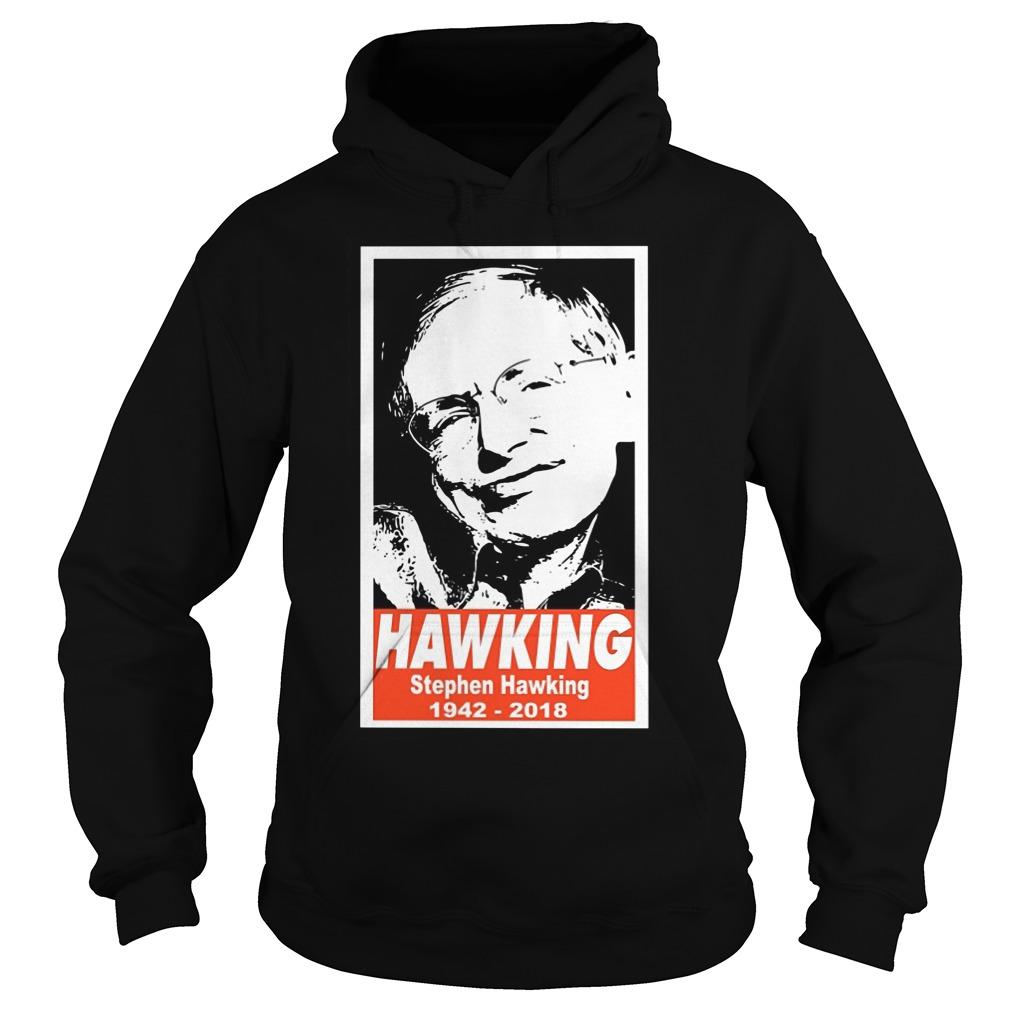 Rip Stephen Hawking 19422018 Hoodie