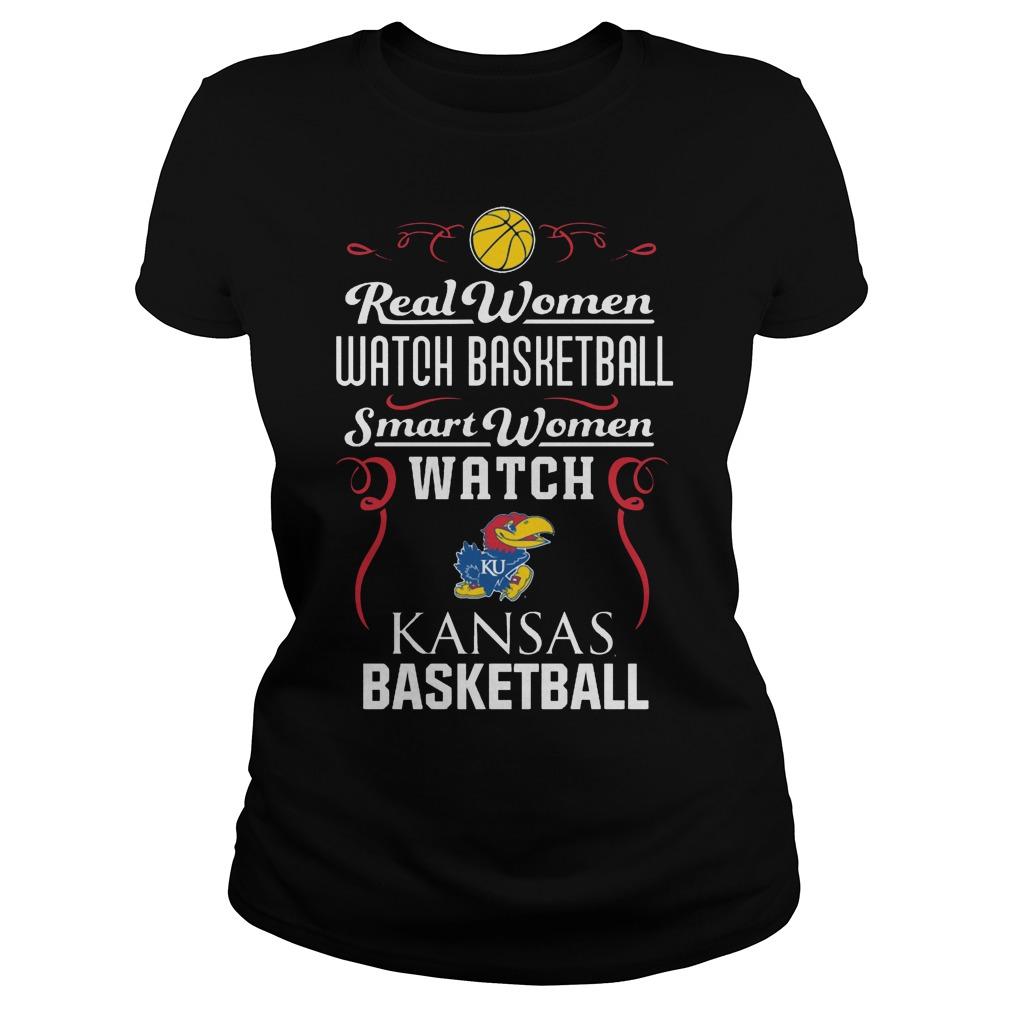 Real Women Watch Baseball Smartwomen Watch Kansas Jayhawks Ladies