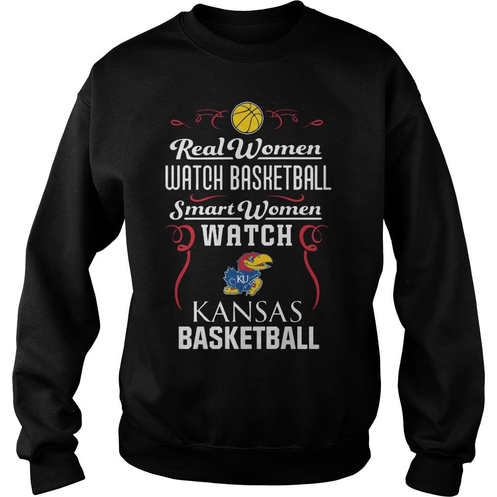Real Women Watch Baseball Smartwomen Watch Kansas Jayhawks Sweater