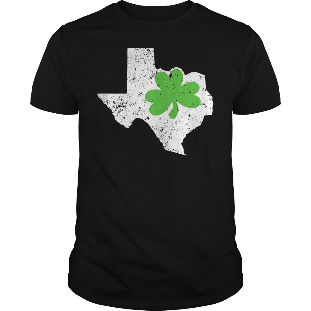 St Patricks Day Shirt Texas Shamrock Shirt