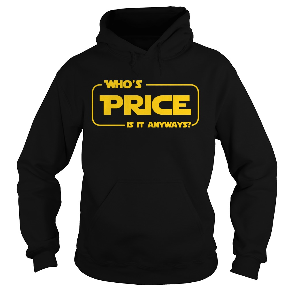 Whos Price Is It Anyway Pick Me Contestant Hoodie