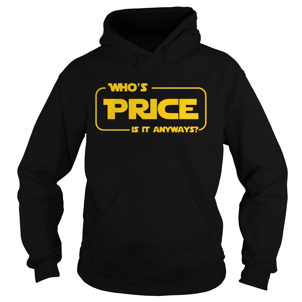 Whos Price Is It Anyway Pick Me Contestant Hoodie