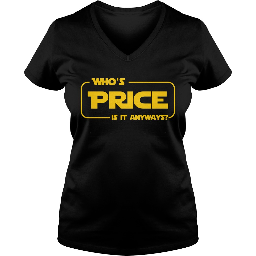 Whos Price Is It Anyway Pick Me Contestant V Neck