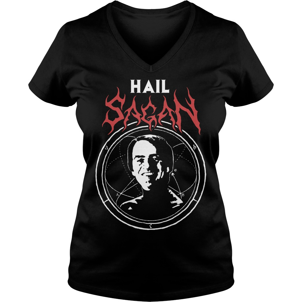 Camiseta Hail Sagan V Neck
