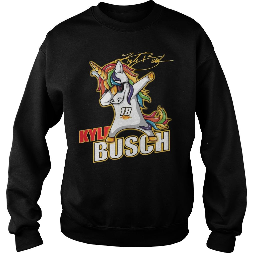 Kyle Busch Unicorn Dabbing Sweater