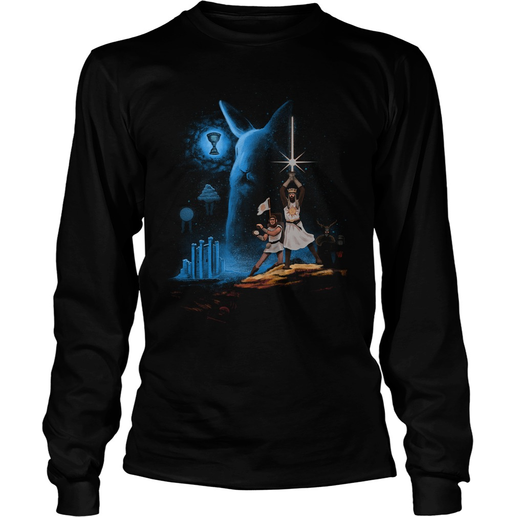 Monty Python And The Holy Grail Wars Longsleeve