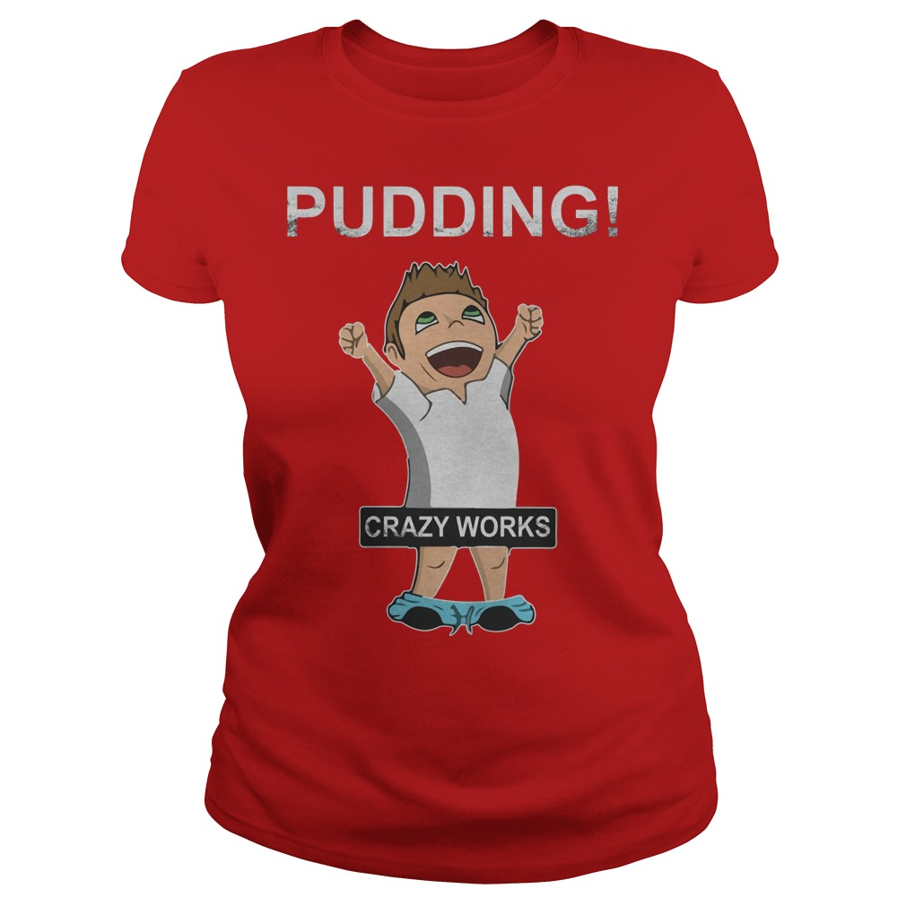 Supernatural Dean Winchester Pudding Crazy Works Shirt Ladies