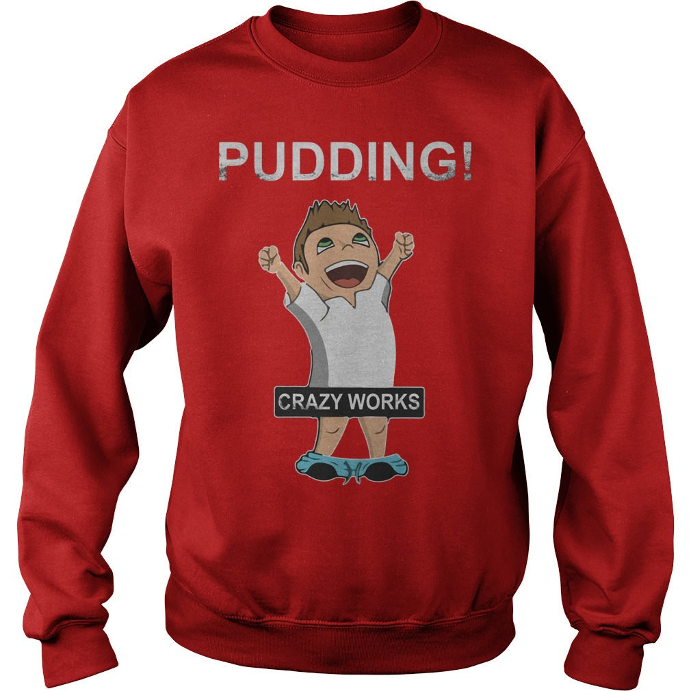 Supernatural Dean Winchester Pudding Crazy Works Shirt Sweater