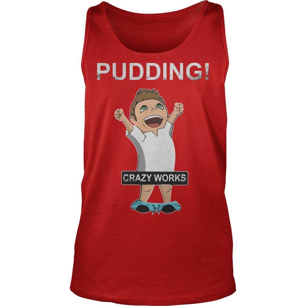 Supernatural Dean Winchester Pudding Crazy Works Shirt Tank Top
