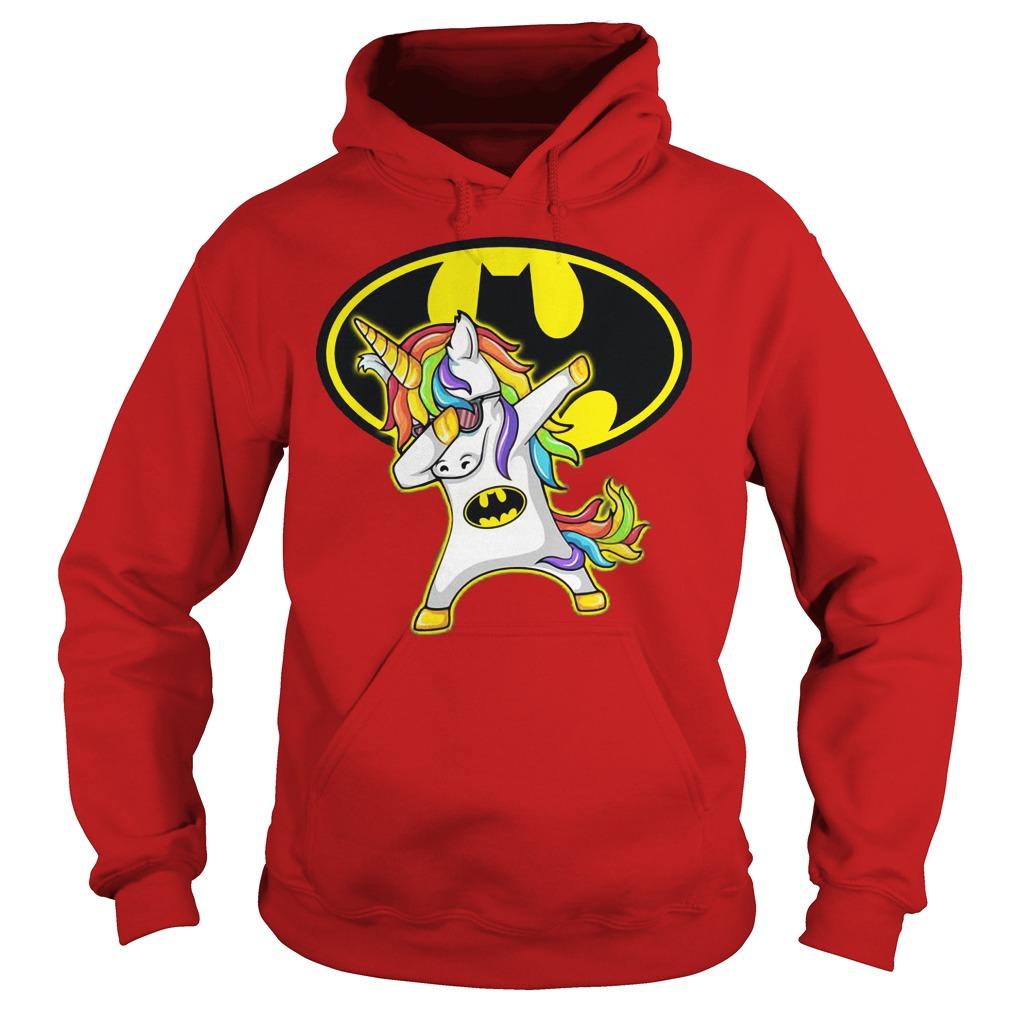 Unicorn Dabbing Batman Hoodie