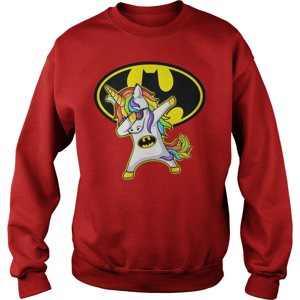 Unicorn Dabbing Batman Sweater