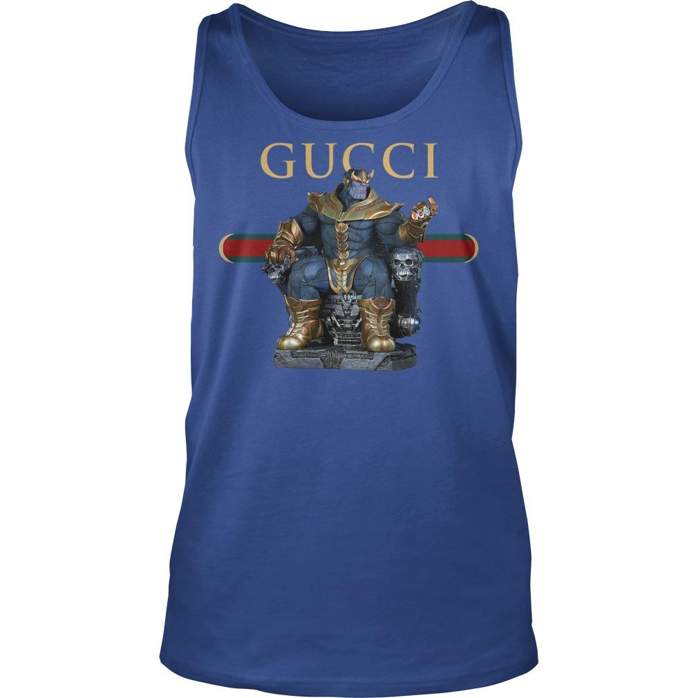 Avenger Infinity War Gucci Thanos Tanktop