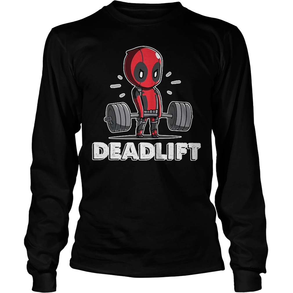 Deadpool Deadlift Longsleeve