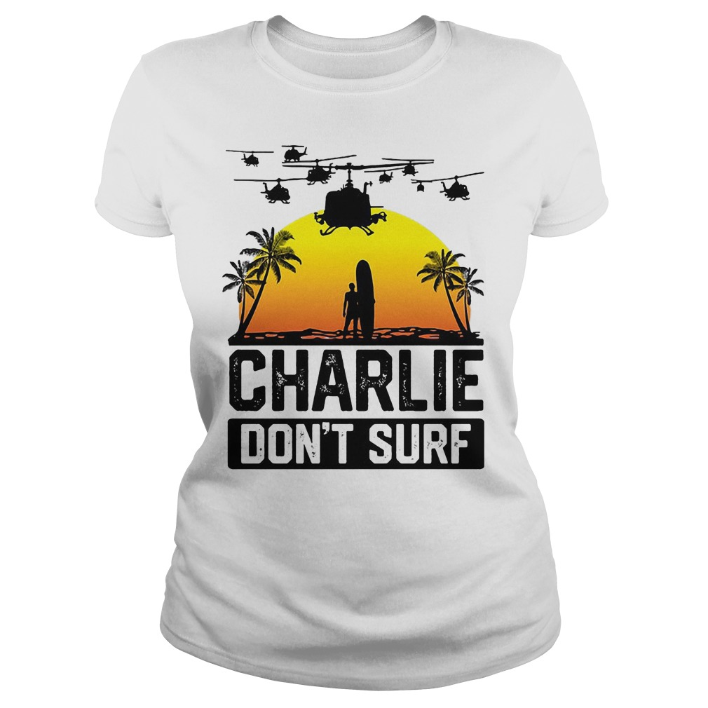 Official Viet Cong Victor Charlie Don't Surf Ladies
