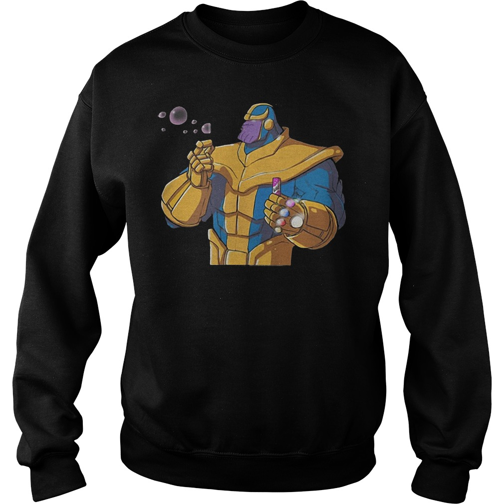 Thanos Blowing Bubbles Sweater