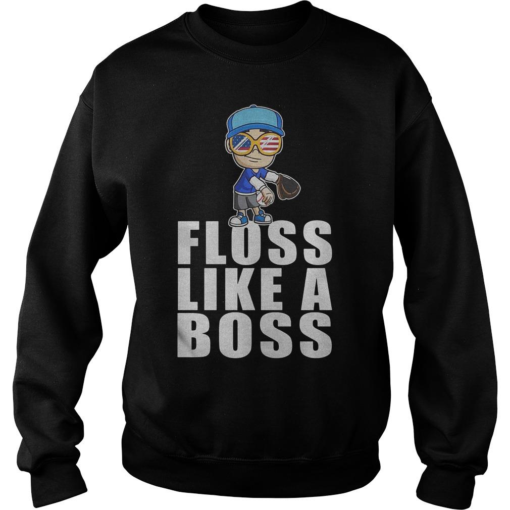 Baseball Floss Like A Boss Sweater