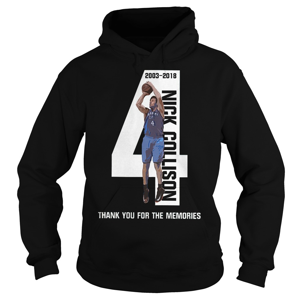 Nick Collison Forever 2003 2018 Hoodie