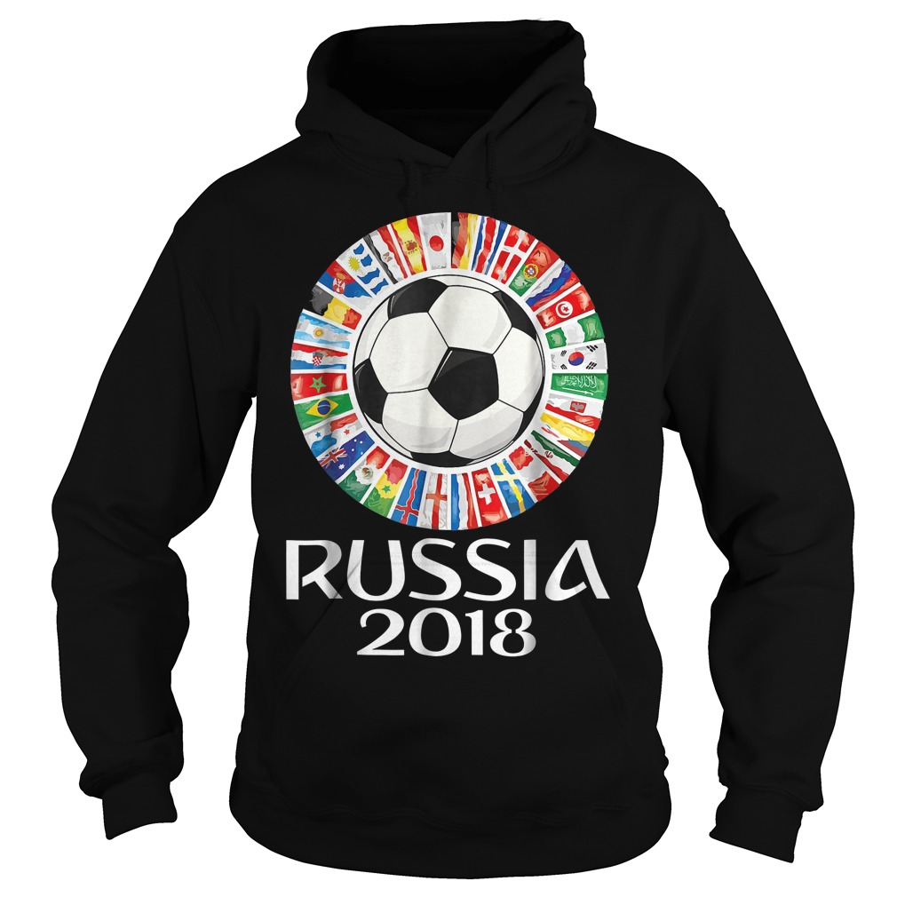 Russia Soccer World Cup 2018 All Teams Hoodie