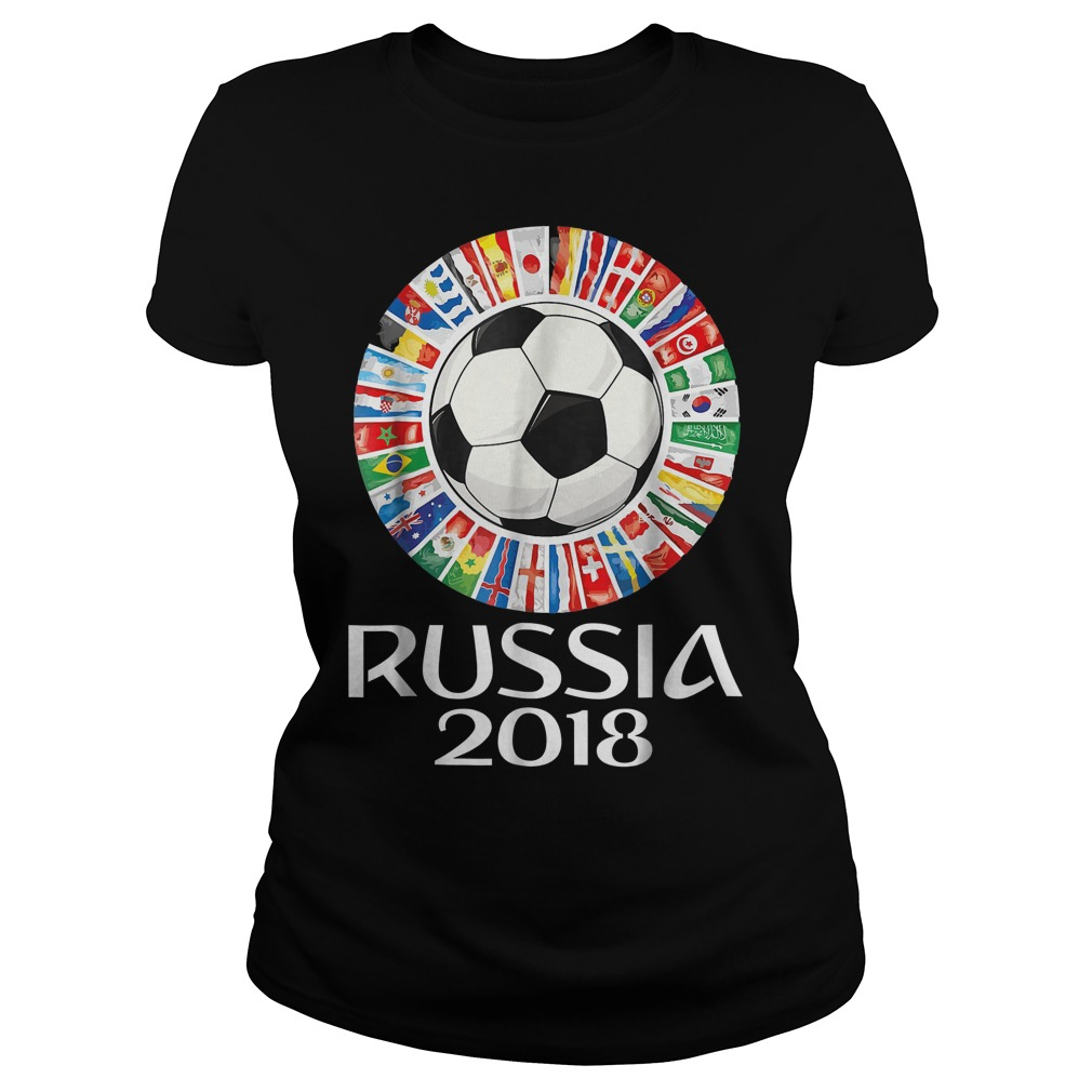 Russia Soccer World Cup 2018 All Teams Ladies