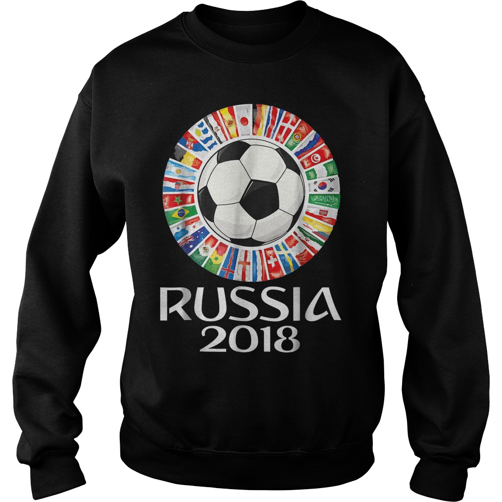 Russia Soccer World Cup 2018 All Teams Sweater