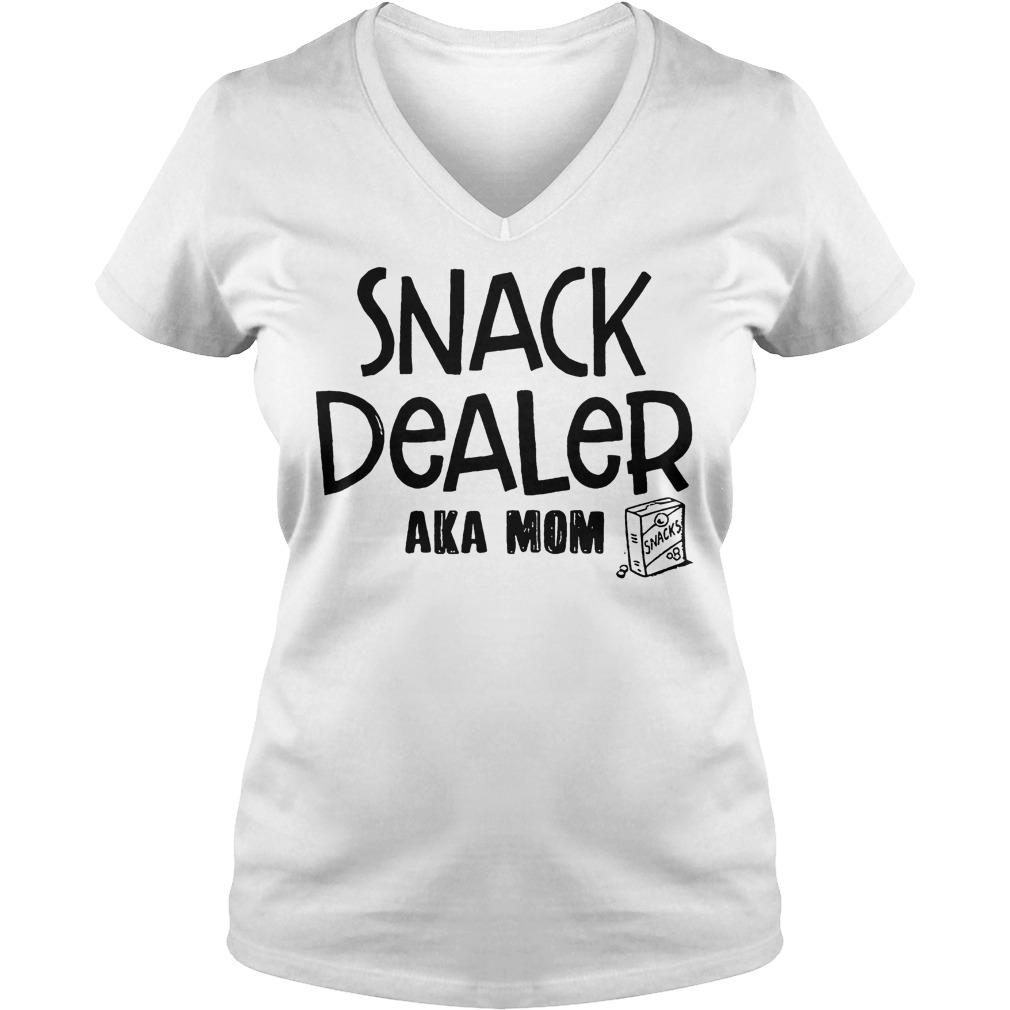 Snack Dealer Aka Mom V Neck