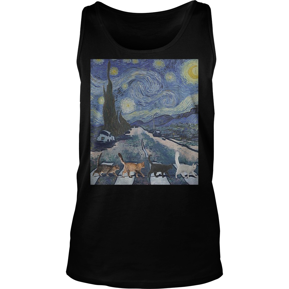 Tabby Road The Starry Night Tanktop