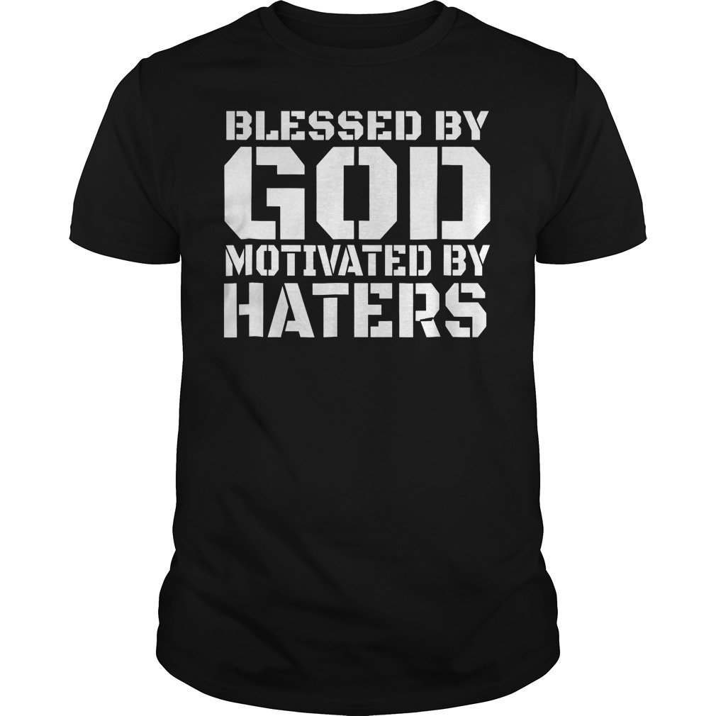 Blessed By God Motivated T-Shirt Classic Guys / Unisex Tee