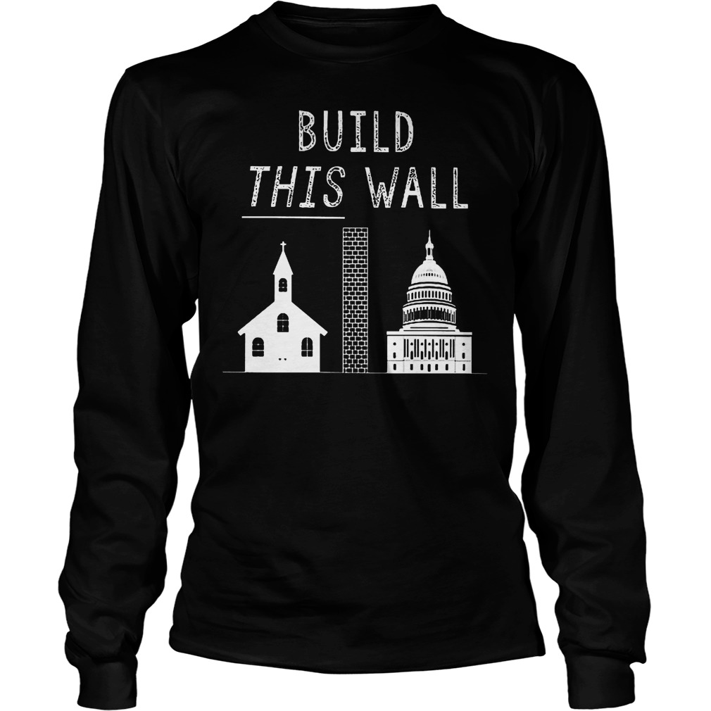 Build This War Trump Policy T-Shirt Unisex Longsleeve Tee