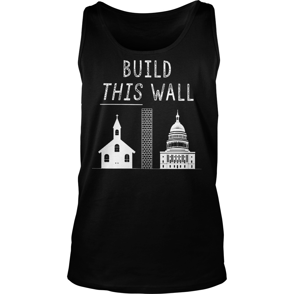 Build This War Trump Policy T-Shirt Unisex Tank Top