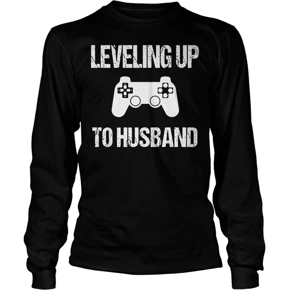 Engagement For Groom Video Game Lovers T-Shirt Unisex Longsleeve Tee