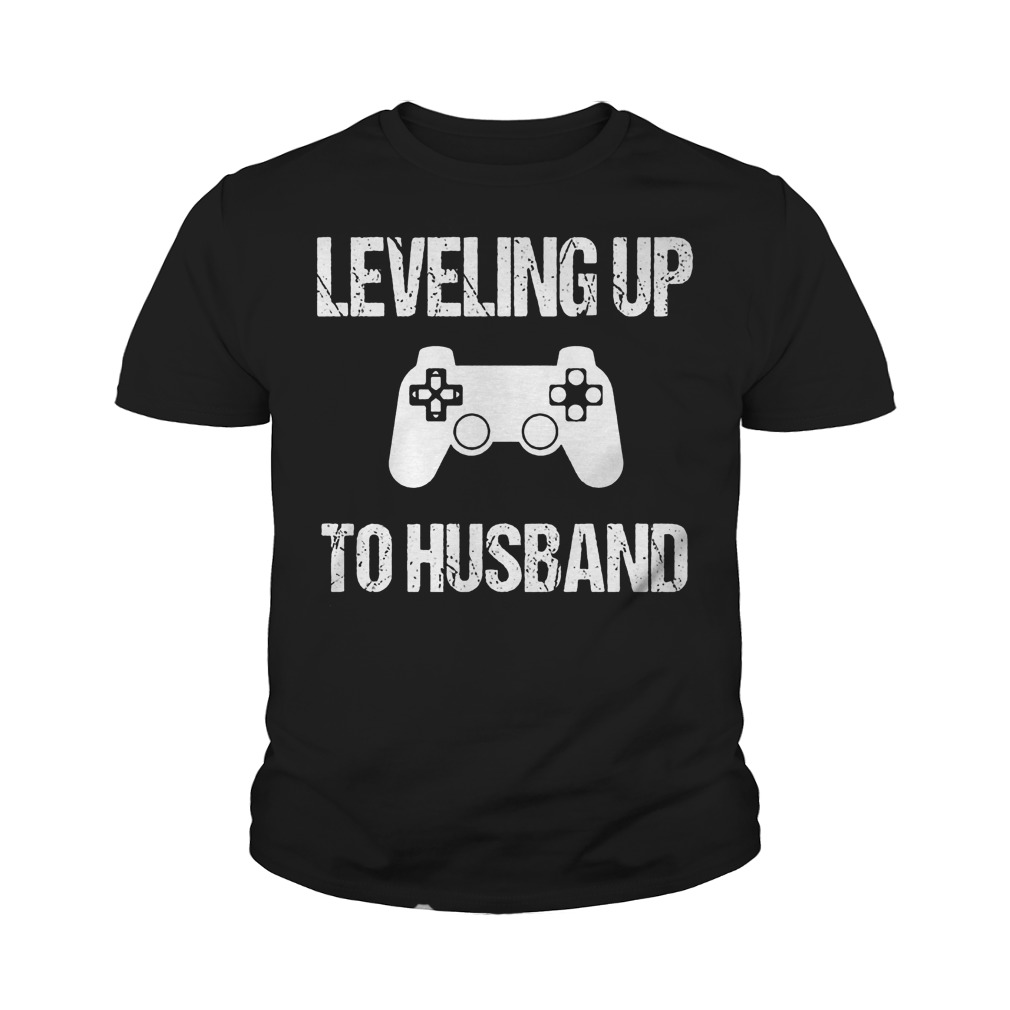 Engagement For Groom Video Game Lovers T-Shirt Youth Tee