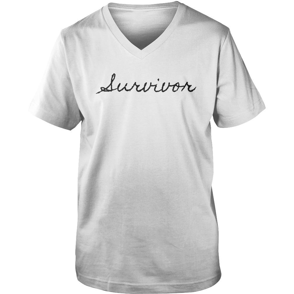 Official Lurvivor T-Shirt Guys V-Neck