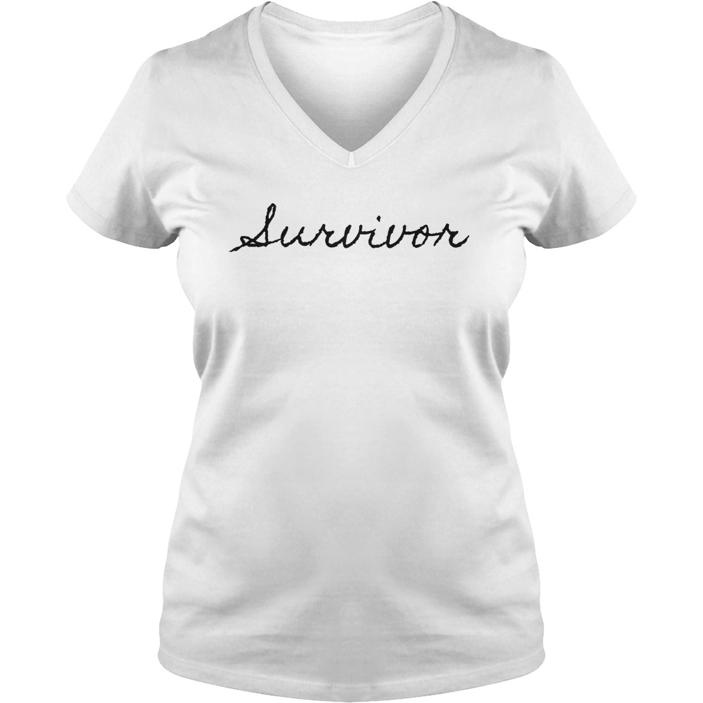 Official Lurvivor T-Shirt Ladies V-Neck