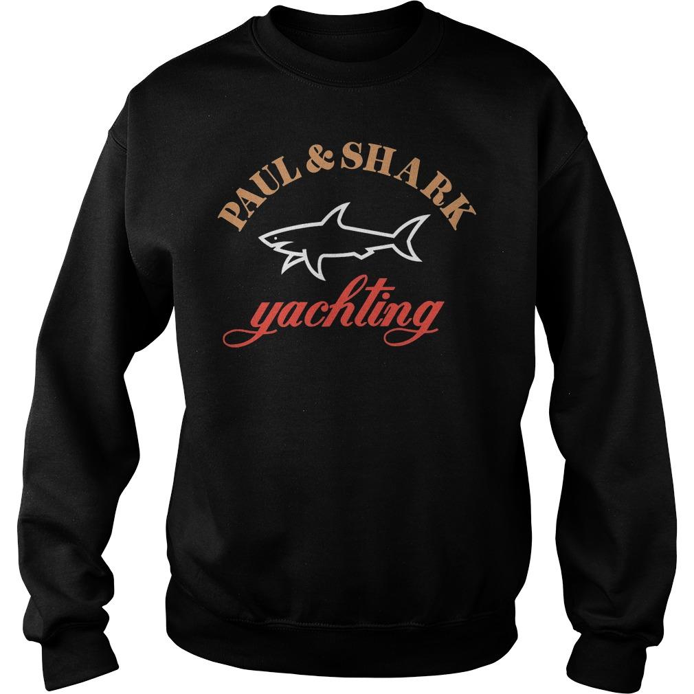 Official Paul And Shark Yachting Merchandise T-Shirt Sweatshirt Unisex