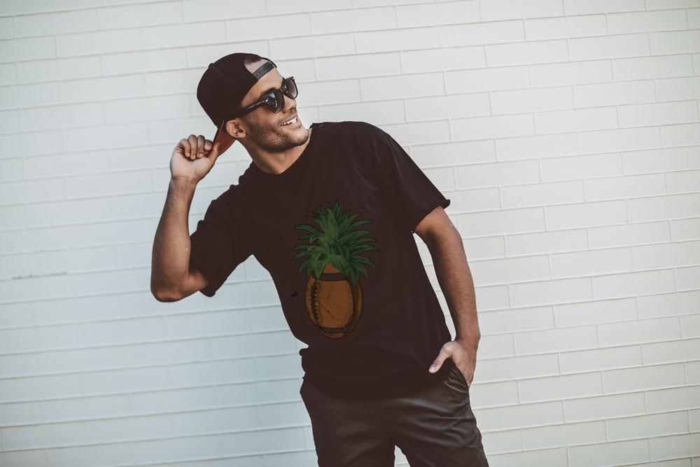 Official Pineapple Football T Shirt