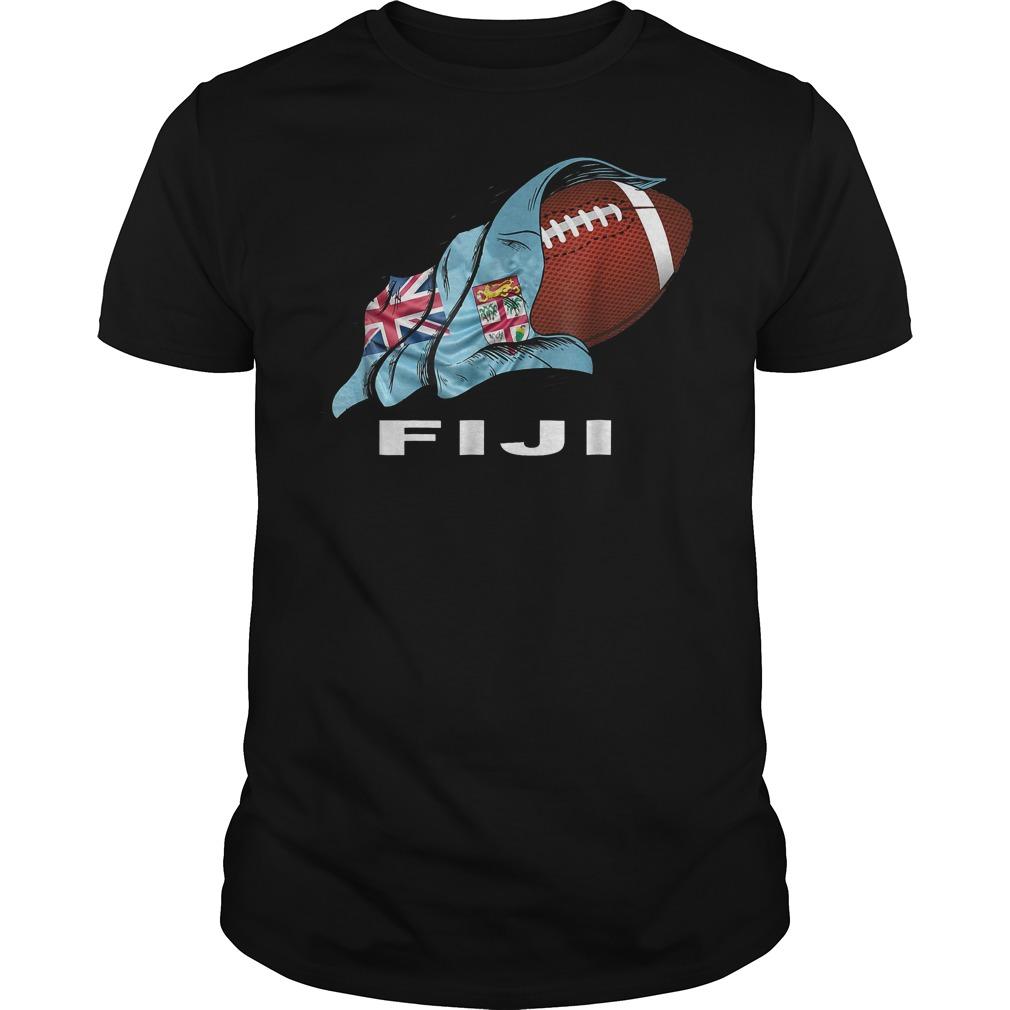 Rugby Fiji Sevens 2018 World Champions T-Shirt Guys Tee