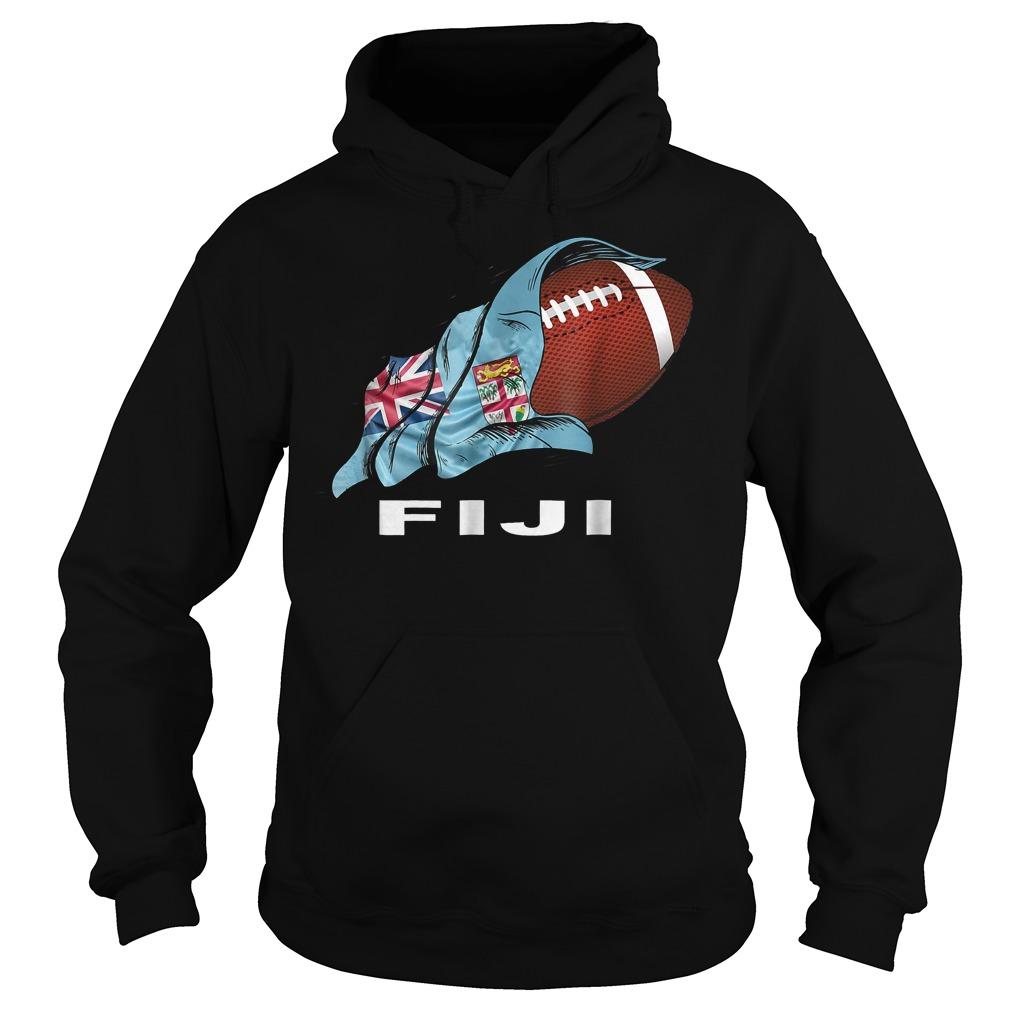 Rugby Fiji Sevens 2018 World Champions T-Shirt Hoodie