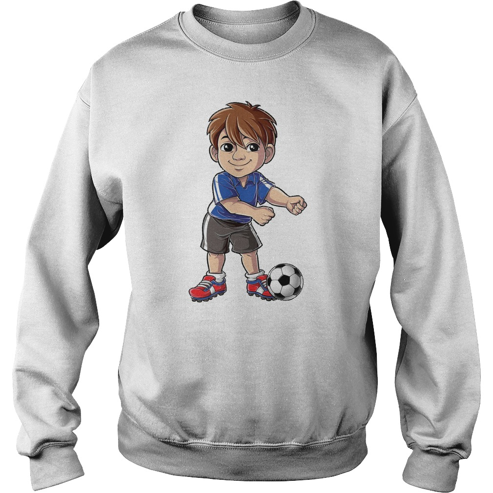 Soccer Boy Flossing Players Floss Like A Boss T-Shirt Sweat Shirt