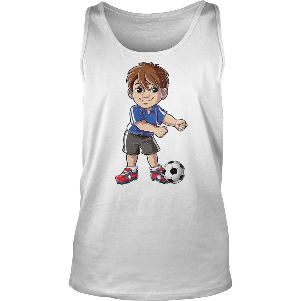 Soccer Boy Flossing Players Floss Like A Boss T-Shirt Unisex Tank Top