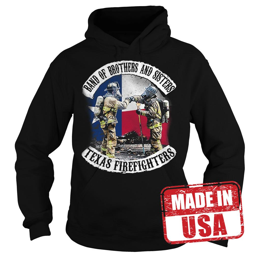 Best Price Band of brothers and sisters Texas Firefighter shirt Hoodie