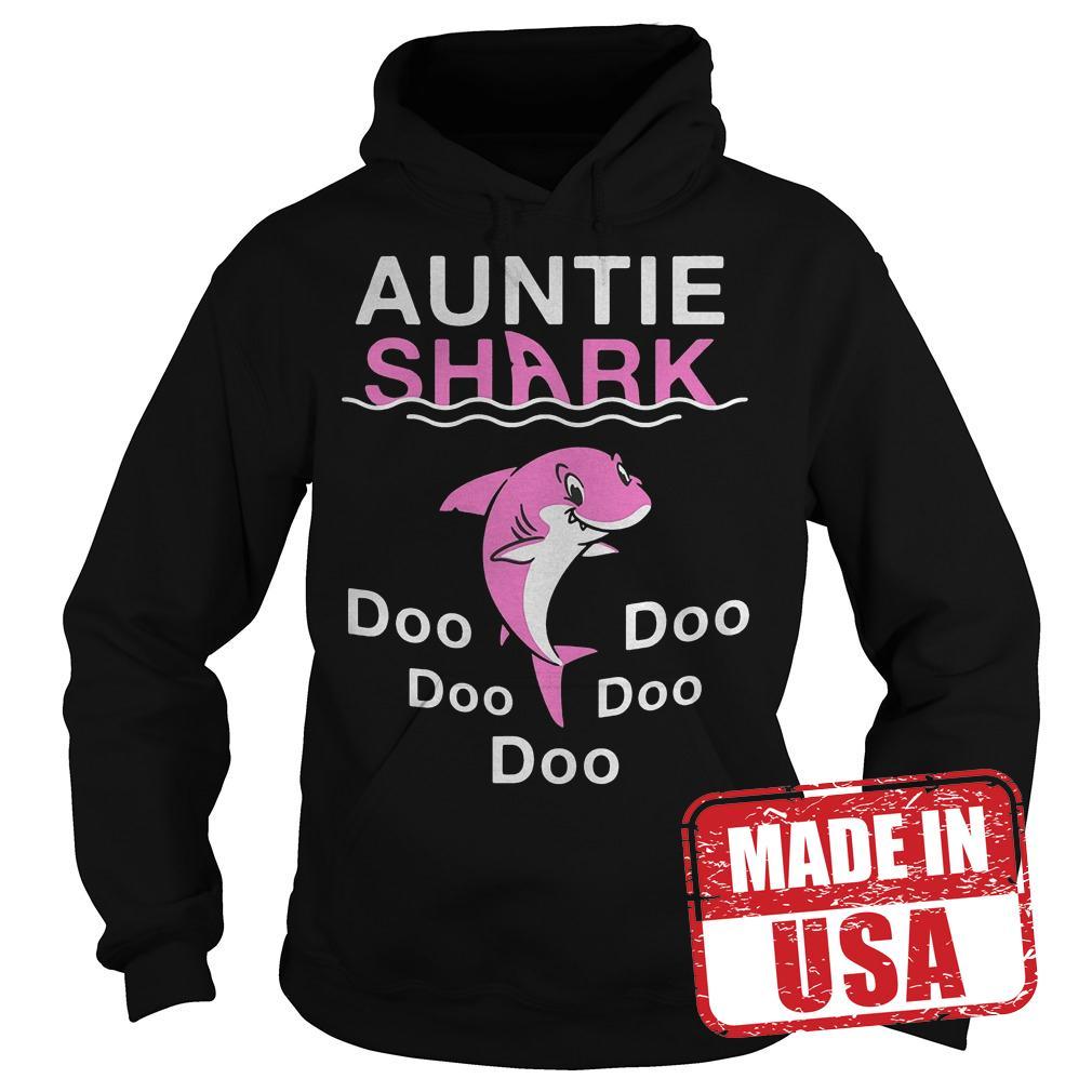 Best Price Pink Shark Auntie Shark shirt Hoodie