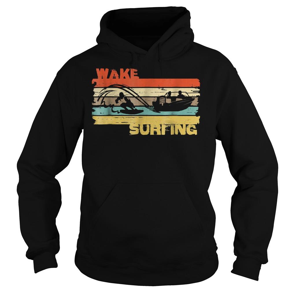 Best Price Wakesurfing Vintage T-Shirt Hoodie