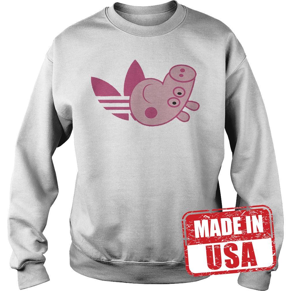 Official Adidas Peppa Pig shirt Sweatshirt Unisex